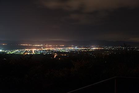 円山展望台の夜景