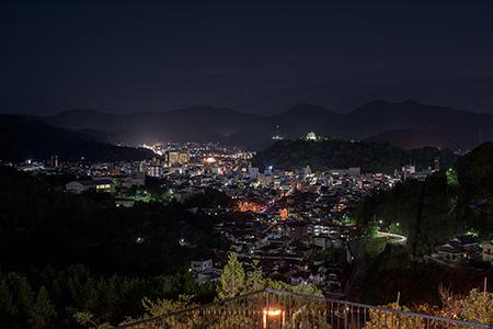丸山公園の夜景