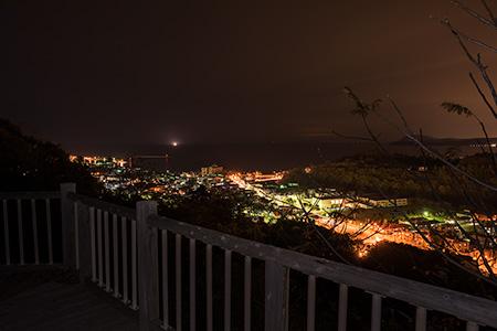 円山公園の夜景