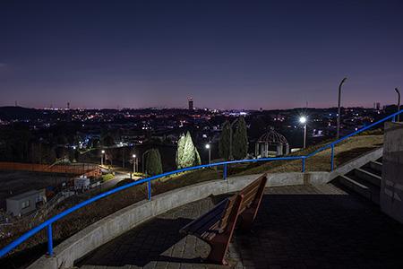 東俣野中央公園の夜景