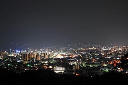 夜景100選「城山公園」