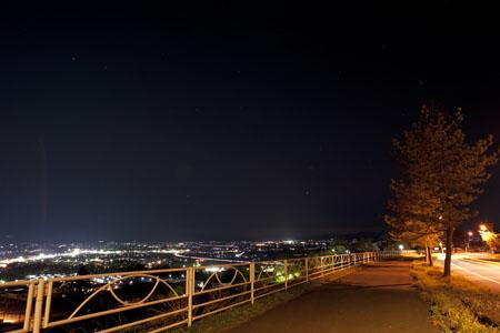 松長団地の夜景