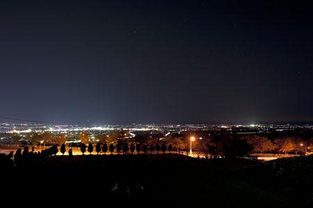 松長1号公園の夜景
