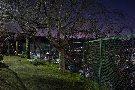 松根台公園の夜景