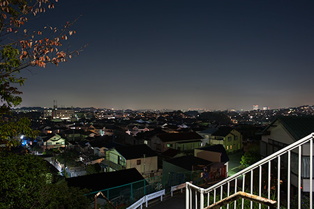 松の内公園の夜景