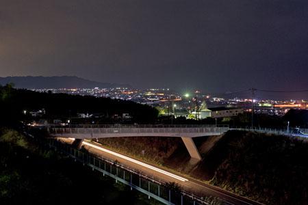 恵之久保公園の夜景