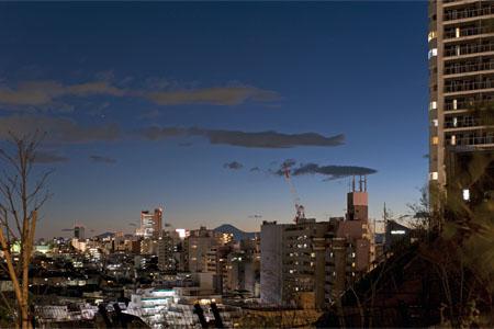目黒天空庭園の夜景