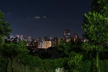 目白台一丁目遊び場の夜景