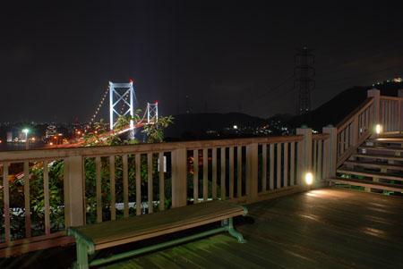 めかり公園の夜景