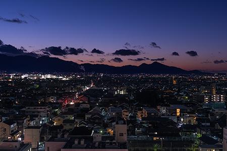 ミグランス 展望フロア(橿原市役所分庁舎)の夜景