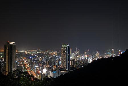 見晴らし展望台の夜景