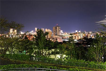 みはらし公園の夜景