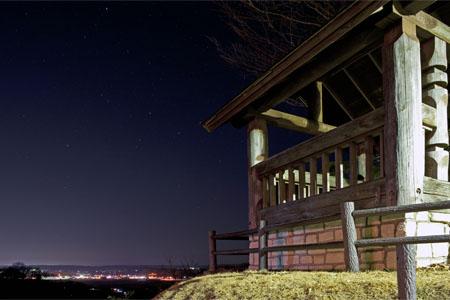 見晴公園の夜景
