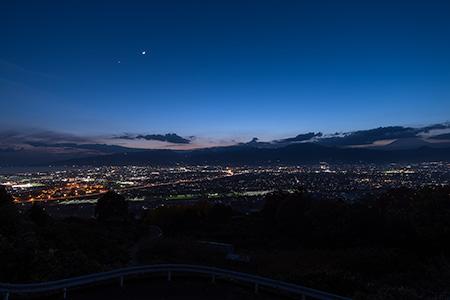 見晴台の夜景