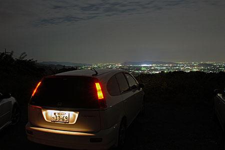 見晴らし台の夜景