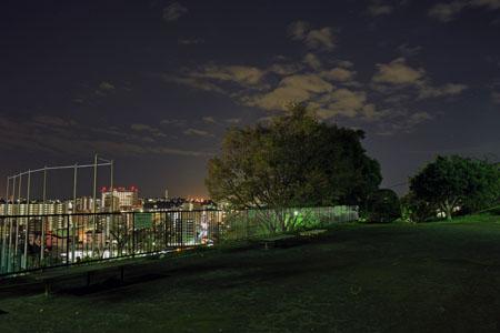 三春台第二公園の夜景