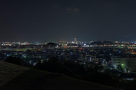 三池平古墳の夜景