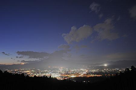 美華ガーデンの夜景