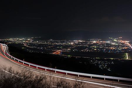 みかんの丘の夜景