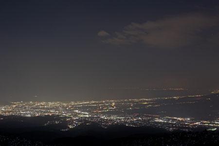 三国峠 芦ノ湖スカイラインの夜景