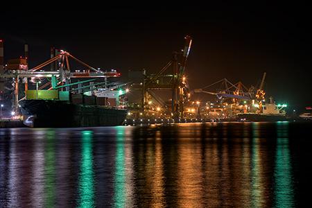 港公園の夜景