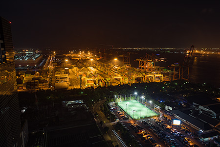 TOKYOミナトリエの夜景