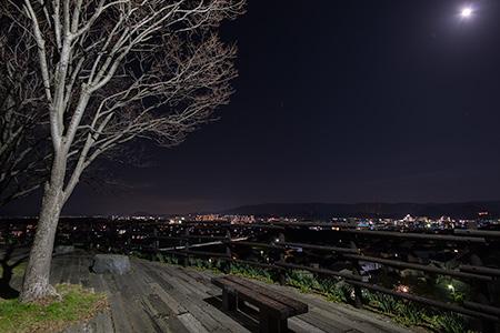 湊坂展望公園の夜景