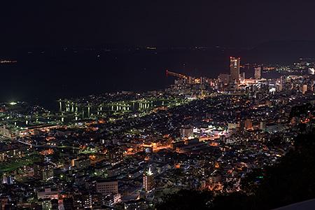 峰山公園の夜景
