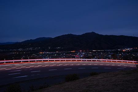 みんなのポケットパーク見晴台の夜景