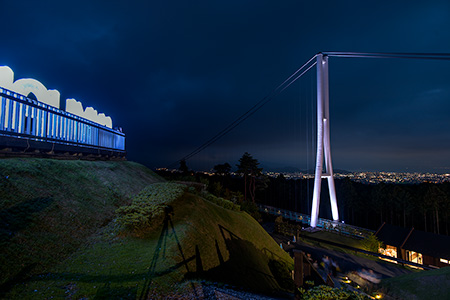 三島スカイウォークの夜景