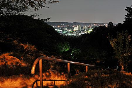 美杉台公園の夜景