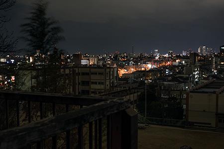 見附公園 ガリバーの丘の夜景
