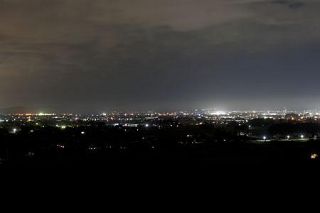 グリーンヒル見分森の夜景