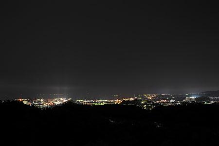 宮島SA(下り)の夜景