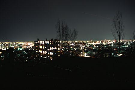 宮丘公園の夜景