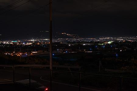 みやさか道の夜景