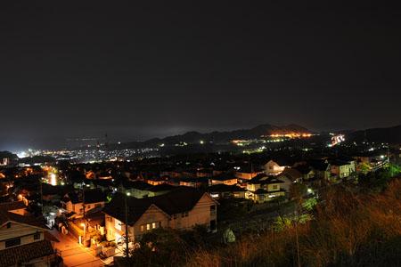 宮園上第三公園の夜景
