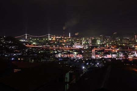みゆき町の夜景