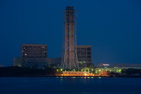 水江町公園の夜景