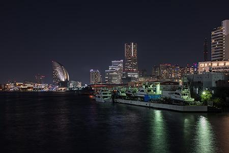 瑞穗橋の夜景