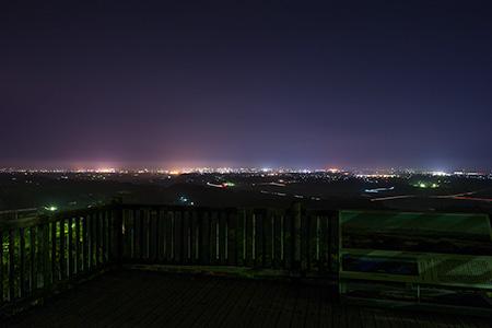 母智丘公園の夜景
