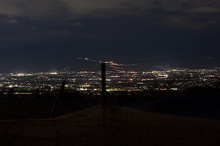 一宮町土塚の夜景