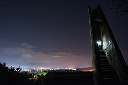 桃山運動公園 展望の丘の夜景