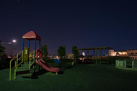 森四丁目第五公園の夜景