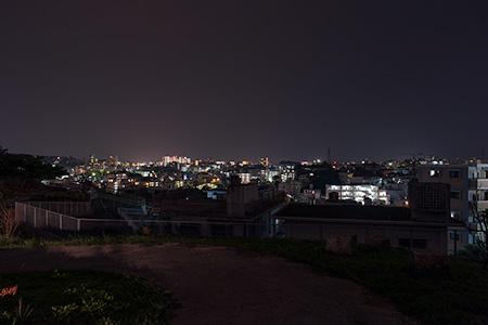 森口公園の夜景