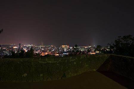 森川公園の夜景