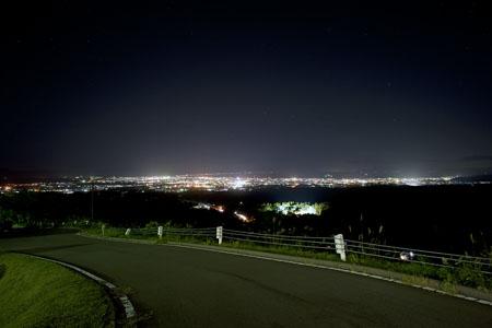 ホテルヴィラシティ雲谷の夜景