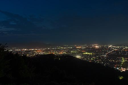 村国山の夜景