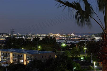 エステ・シティ湘南六浦の夜景