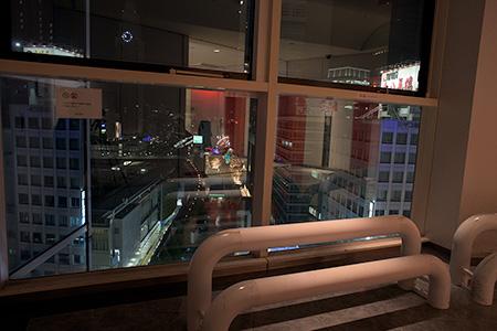 新宿ミロードの夜景